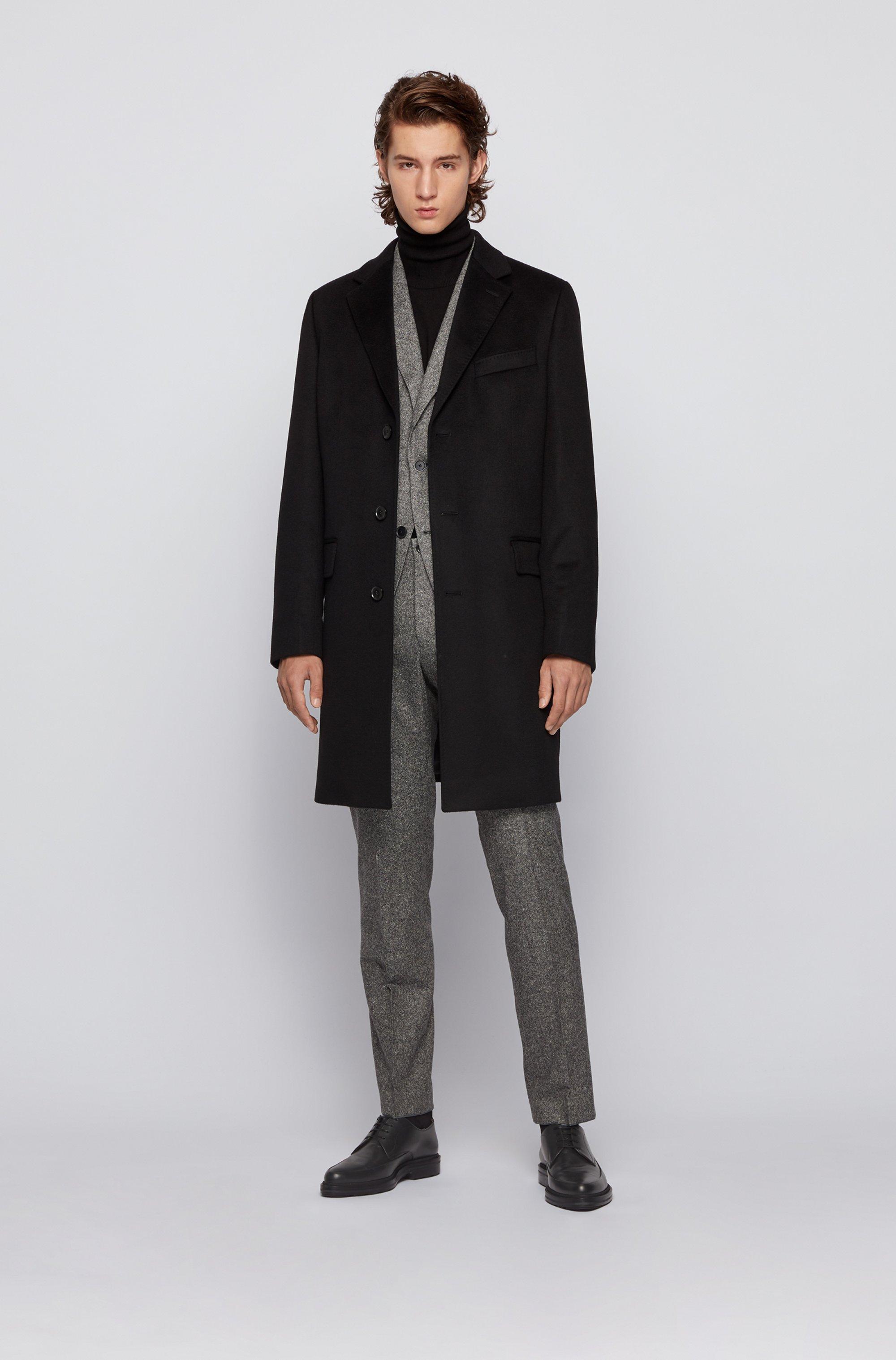 Veste Regular Fit en tweed de laine mélangée