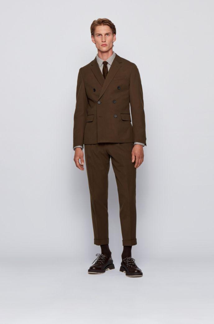 Chemise Slim Fit en jersey de coton à motif