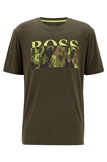 男士休闲T恤,  346_淡绿色