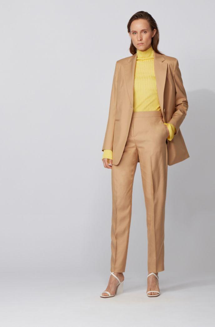 Pullover mit doppelter Ripp-Struktur