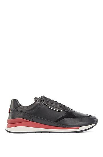 Porsche联名款男士休闲运动鞋,  001_黑色