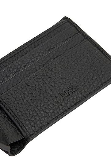 意大利皮革钱包,  001_黑色
