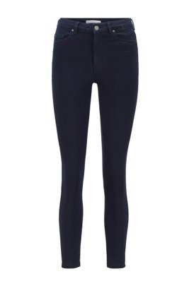 Super-skinny-fit jeans in ultra-stretch denim, Dark Blue