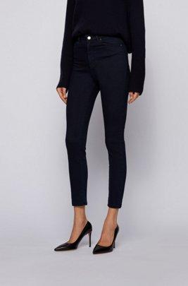 Super-skinny-fit jeans van ultra-stretchdenim, Donkerblauw