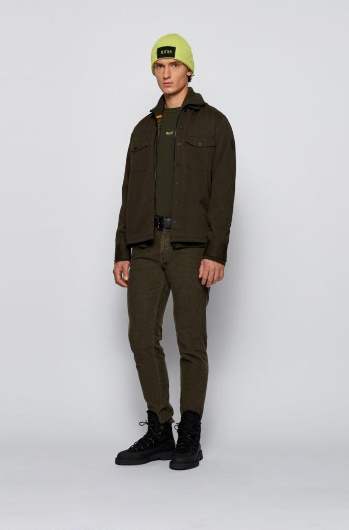 Tapered-Fit Hose aus stückgefärbtem Baumwoll-Cord