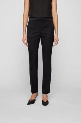 Pantalones Para Mujer De Hugo Boss Clasico Y Moderno