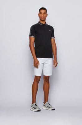 Hugo Boss Men/'s Regular Fit Polo T-Shirt In Black