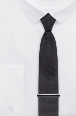 Men's Tie Pins & Lapel Pins | Black | HUGO BOSS