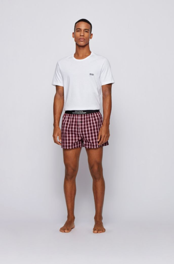 Two-pack of pyjama shorts in lightweight cotton