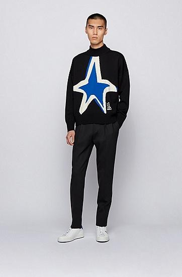 JUSTIN TEODORO系列星形运动鞋,  100_白色