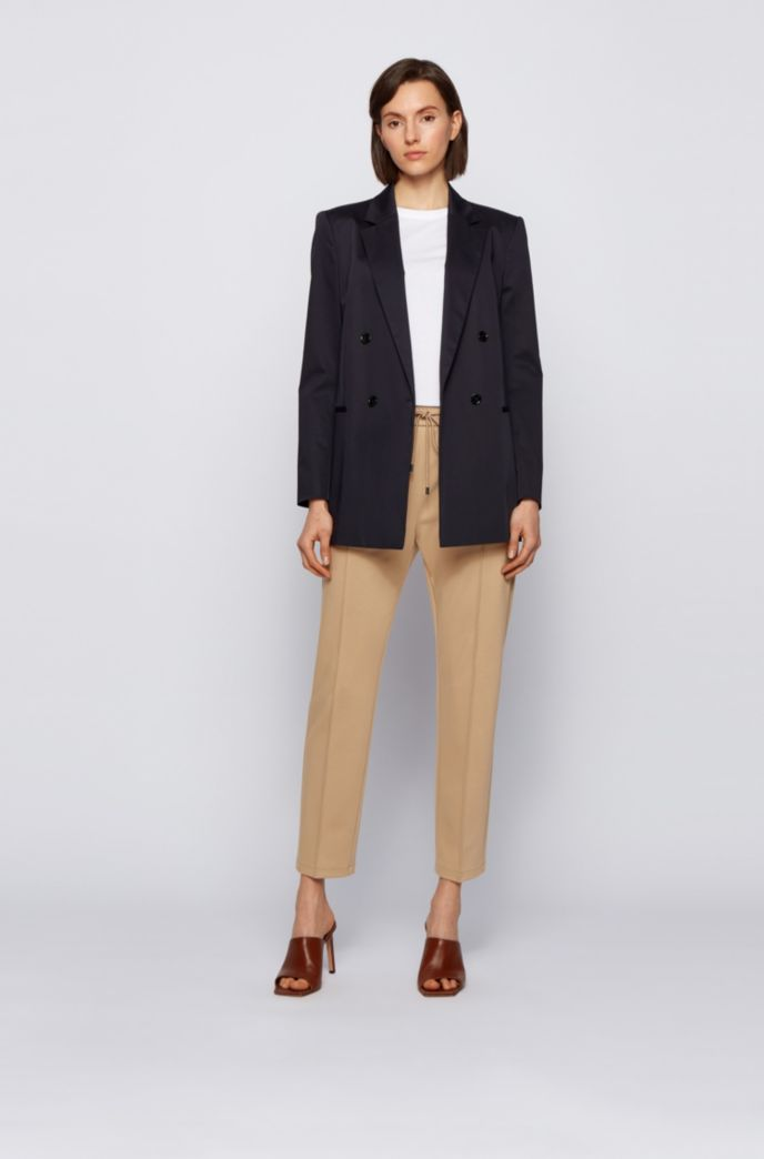 Relaxed-fit trousers with drawstring waistband