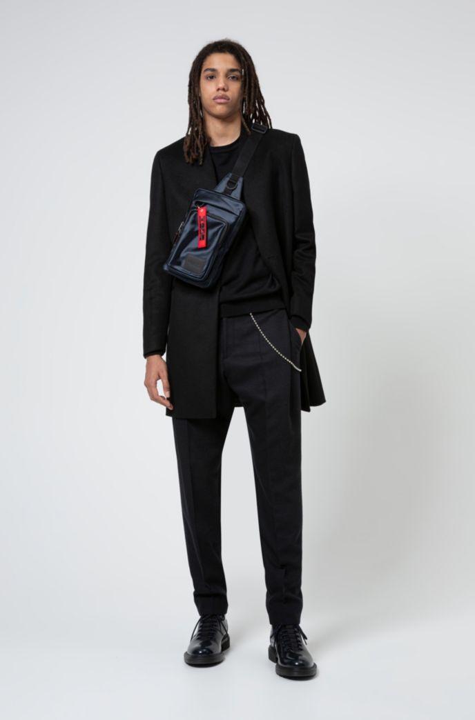 Extra-slim-fit jacket in a virgin-wool blend