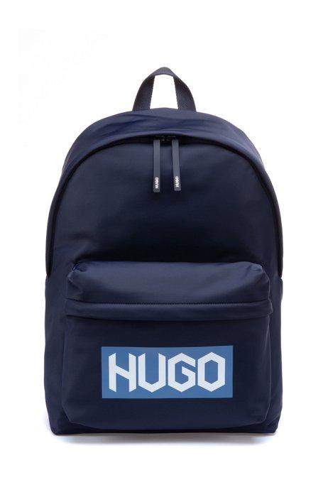 Backpack with new-season tire-print logo, Dark Blue