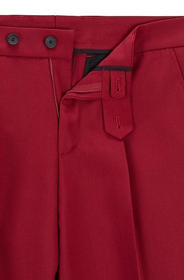男士新款暗红色休闲裤,  609_暗红色