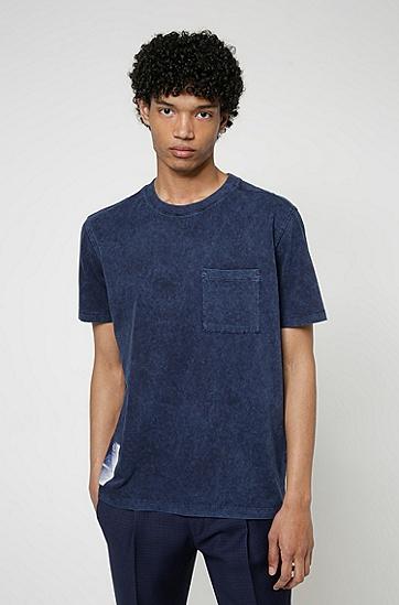 Recot2® 棉质平纹针织面料品牌宣言印花 T 恤,  460_淡蓝色