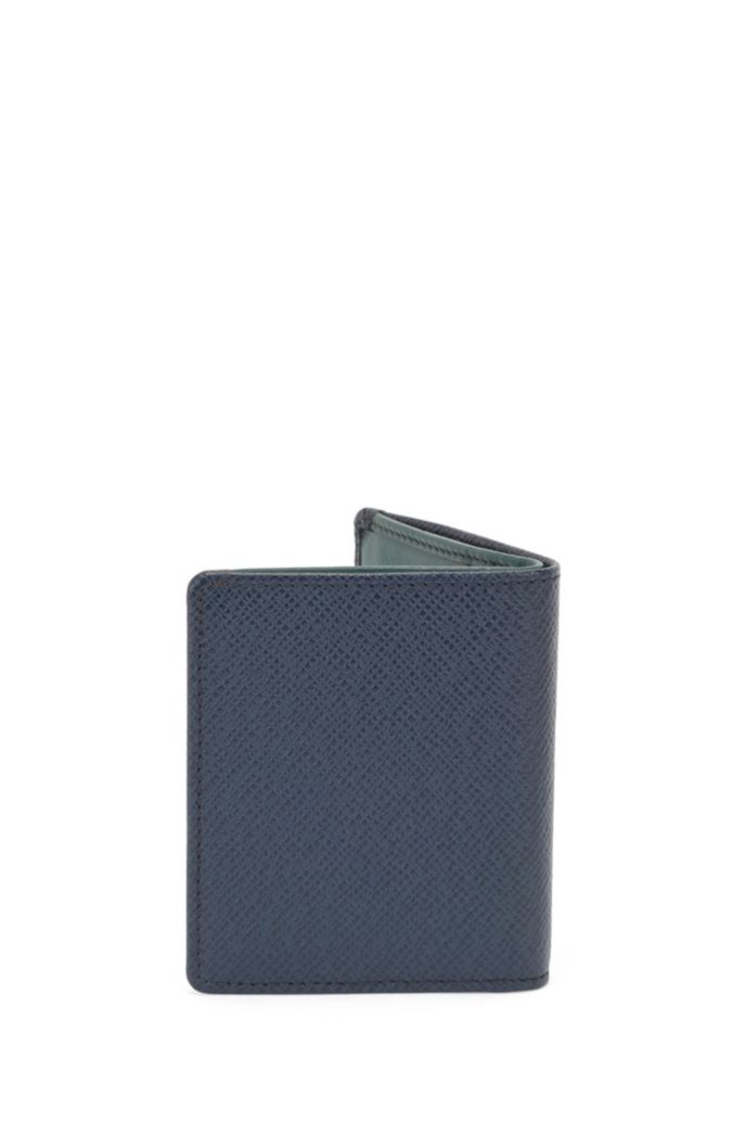 Signature Collection folding wallet in palmellato leather