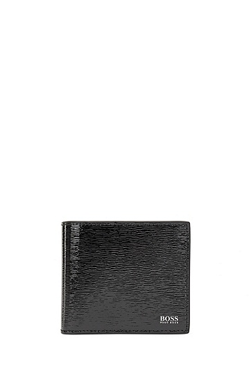 漆皮钱包卡包礼物套装,  001_黑色