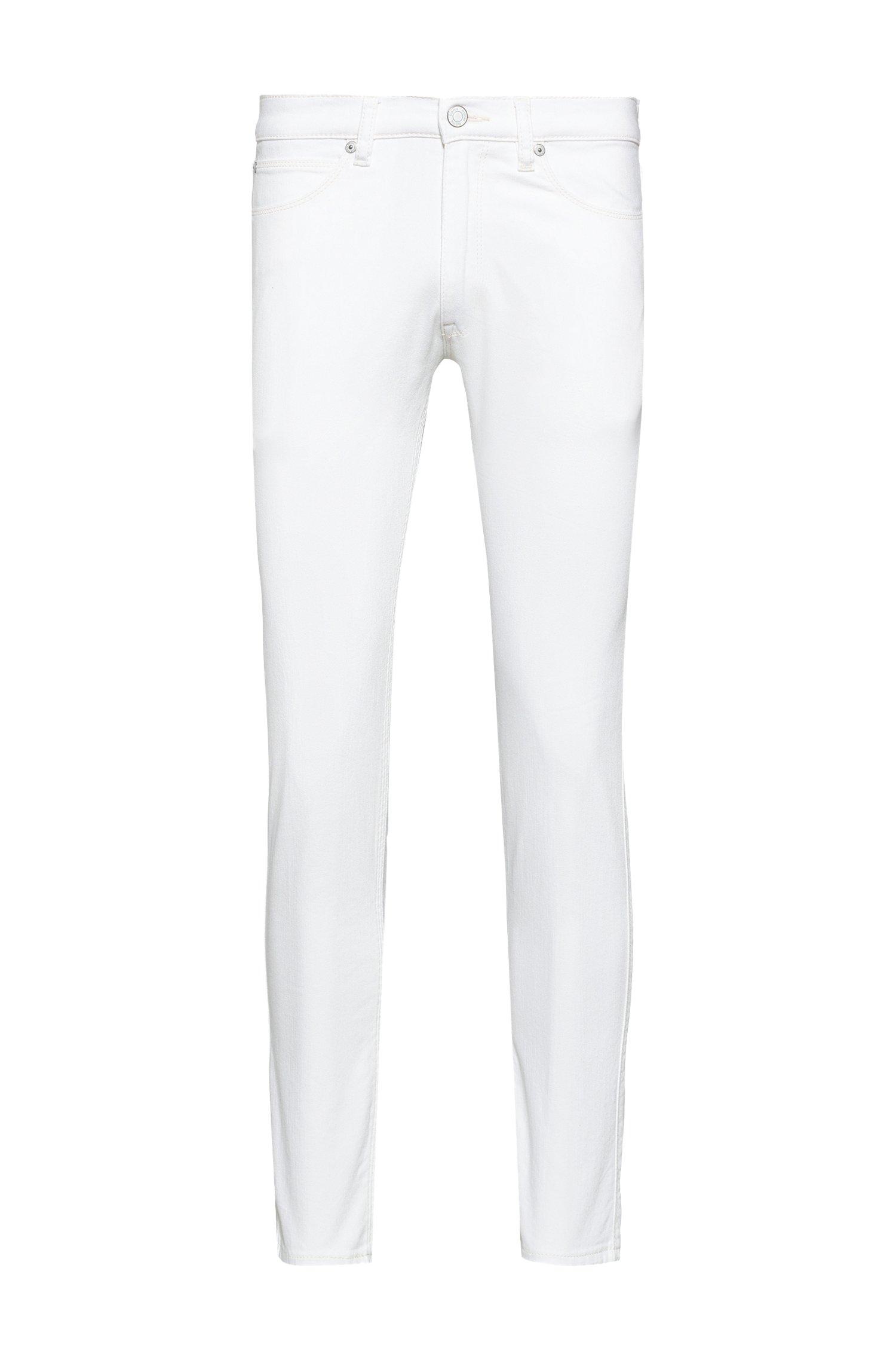 Extra-slim-fit jeans in comfort-stretch denim, White