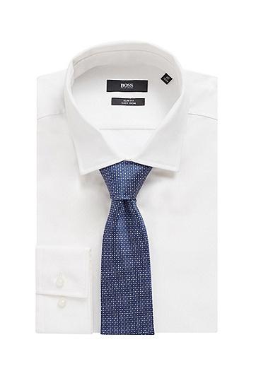 男士图形图案领带,  214_中棕色