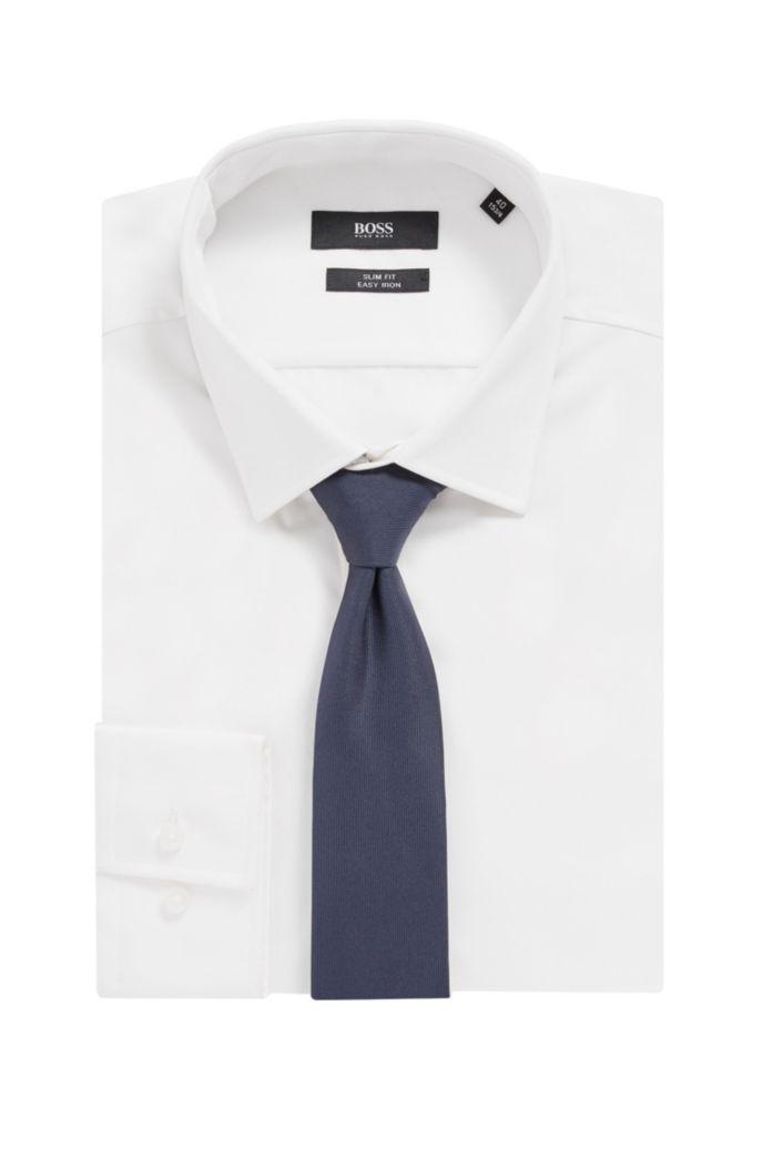 Italian-made tie in pure silk