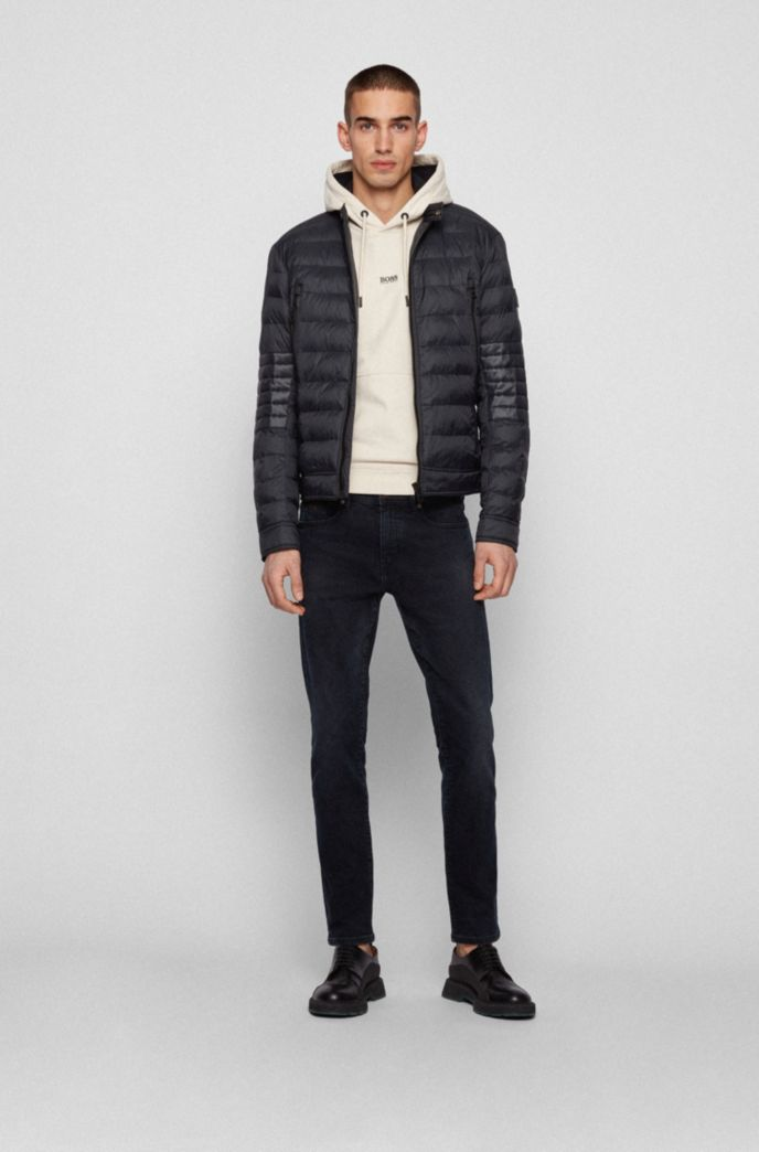 Lightweight quilted jacket in 100% recycled materials