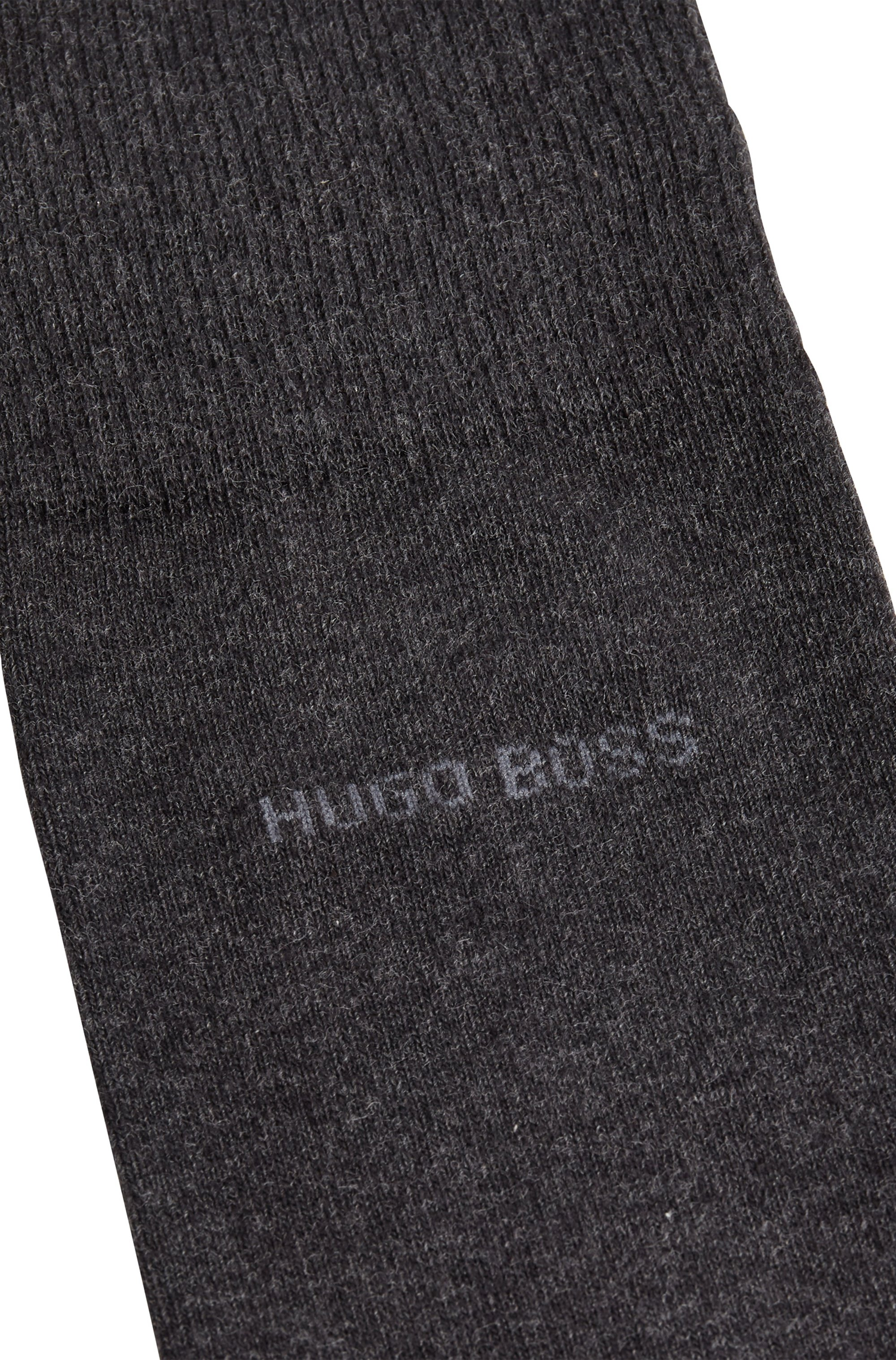 Two-pack of regular-length socks in a cotton blend