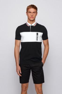 Men's Polo Shirts   Black   HUGO BOSS