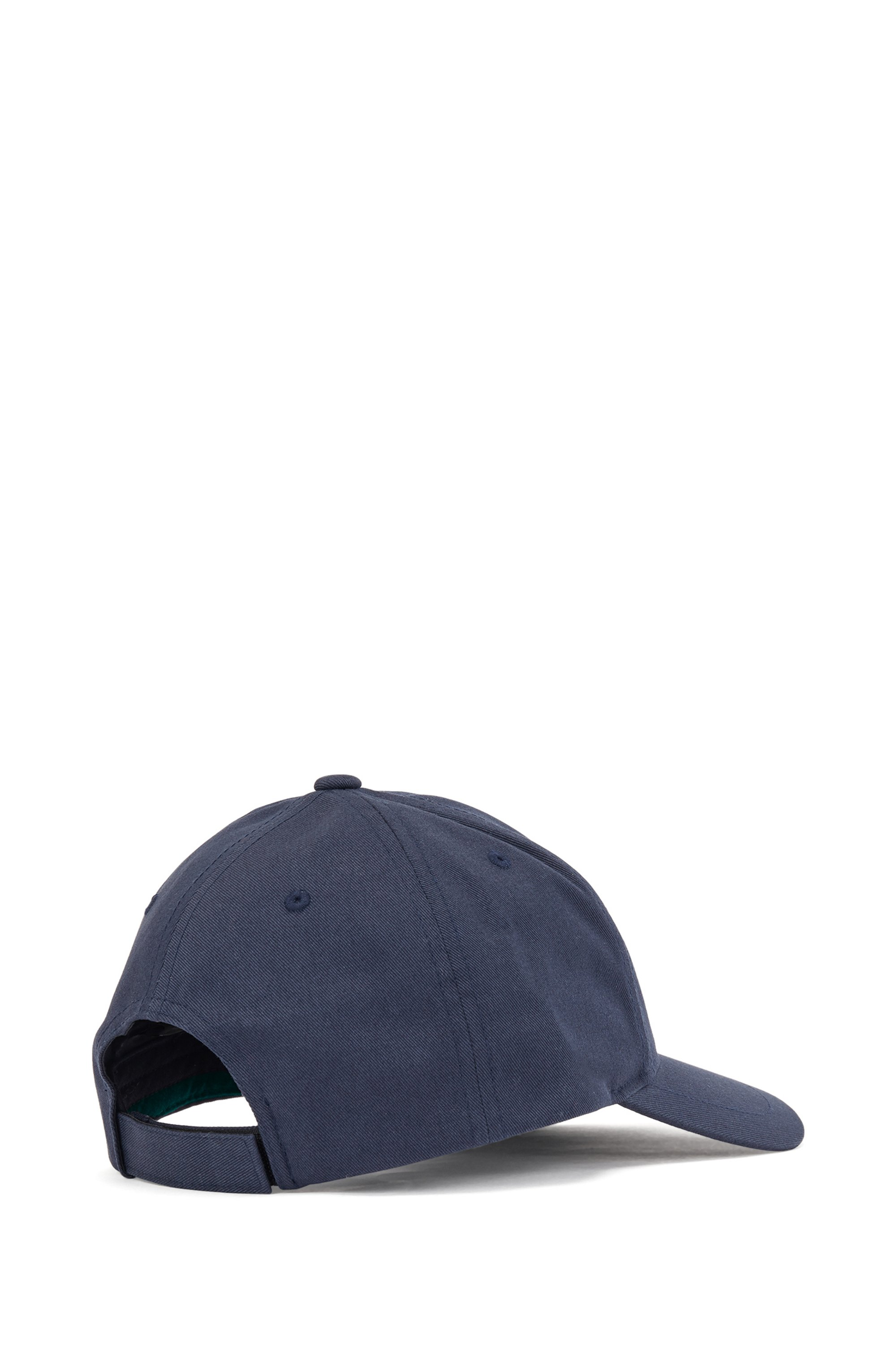 Cotton-twill cap with high-definition logo print
