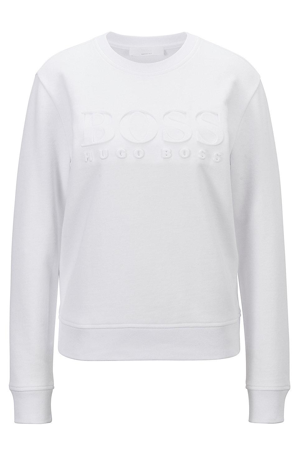 Hugo Boss Heritage Navy Short Sleeve Hoodie Sweatshirt 403 50409380