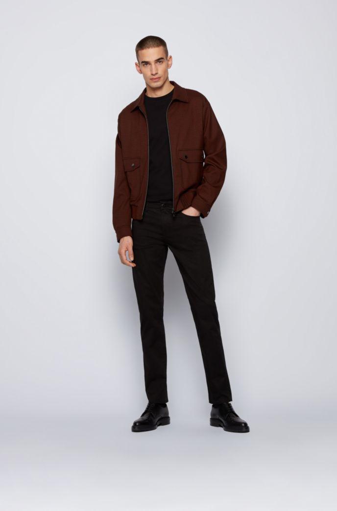 Slim-fit jeans in Italian stretch-cotton satin