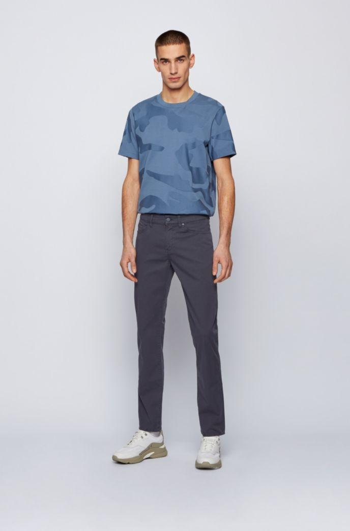 Jeans slim fit in denim elasticizzato manocarta