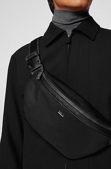 再生材质可调节腰包,  001_Black