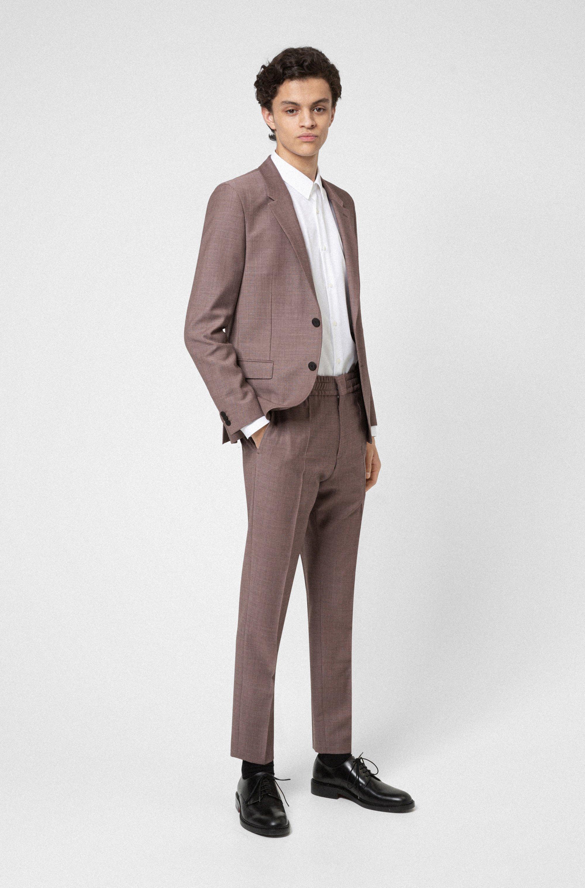 Easy-iron regular-fit shirt in signature cotton poplin