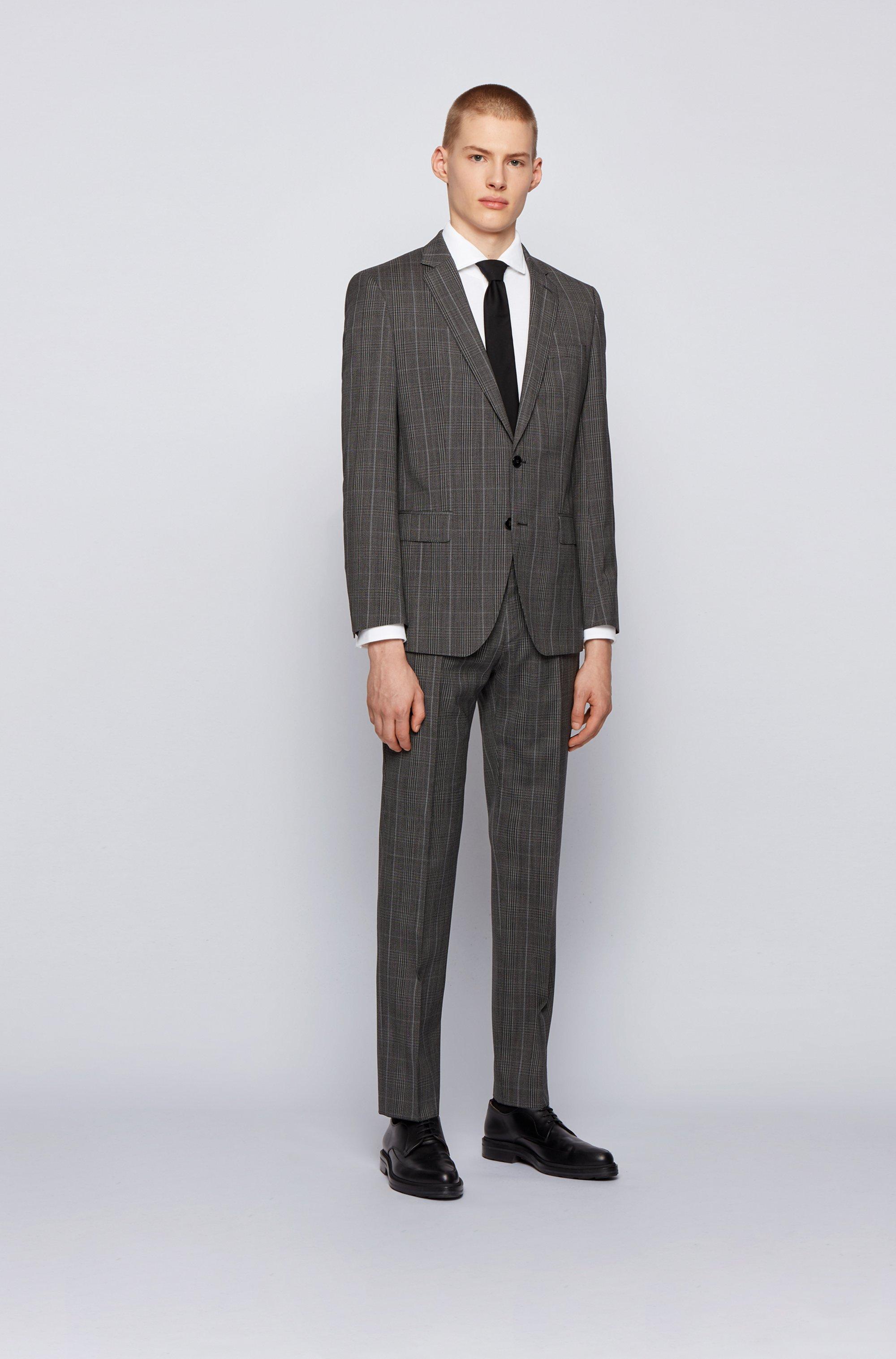 Slim-Fit Hemd aus Baumwoll-Jersey mit Cutaway-Kragen