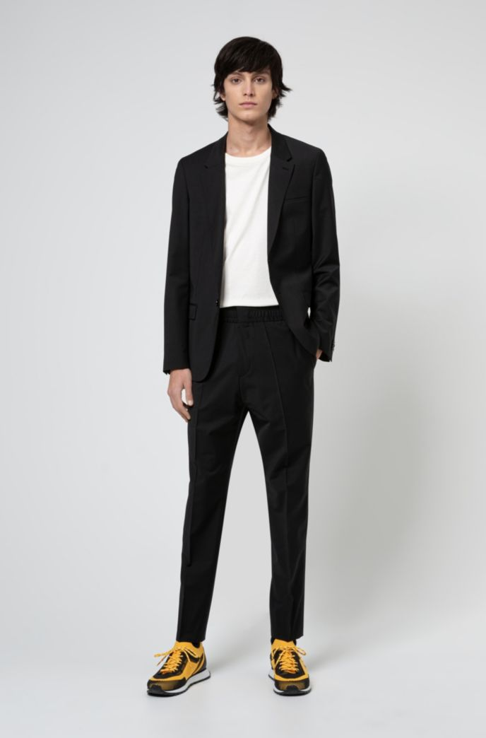 Extra-slim-fit suit in performance-stretch cloth