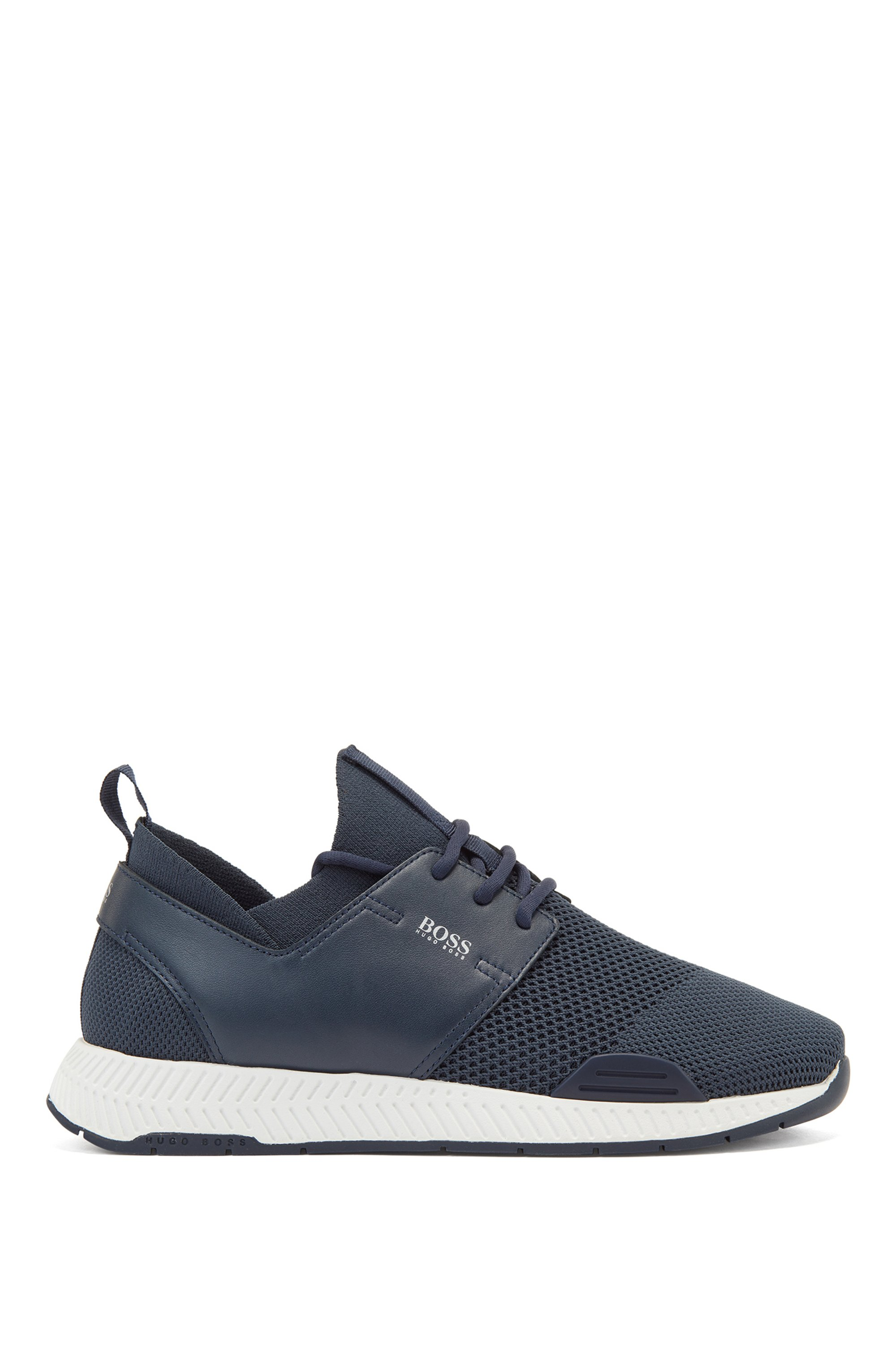 Unisex sock trainers with REPREVE® uppers, Dark Blue