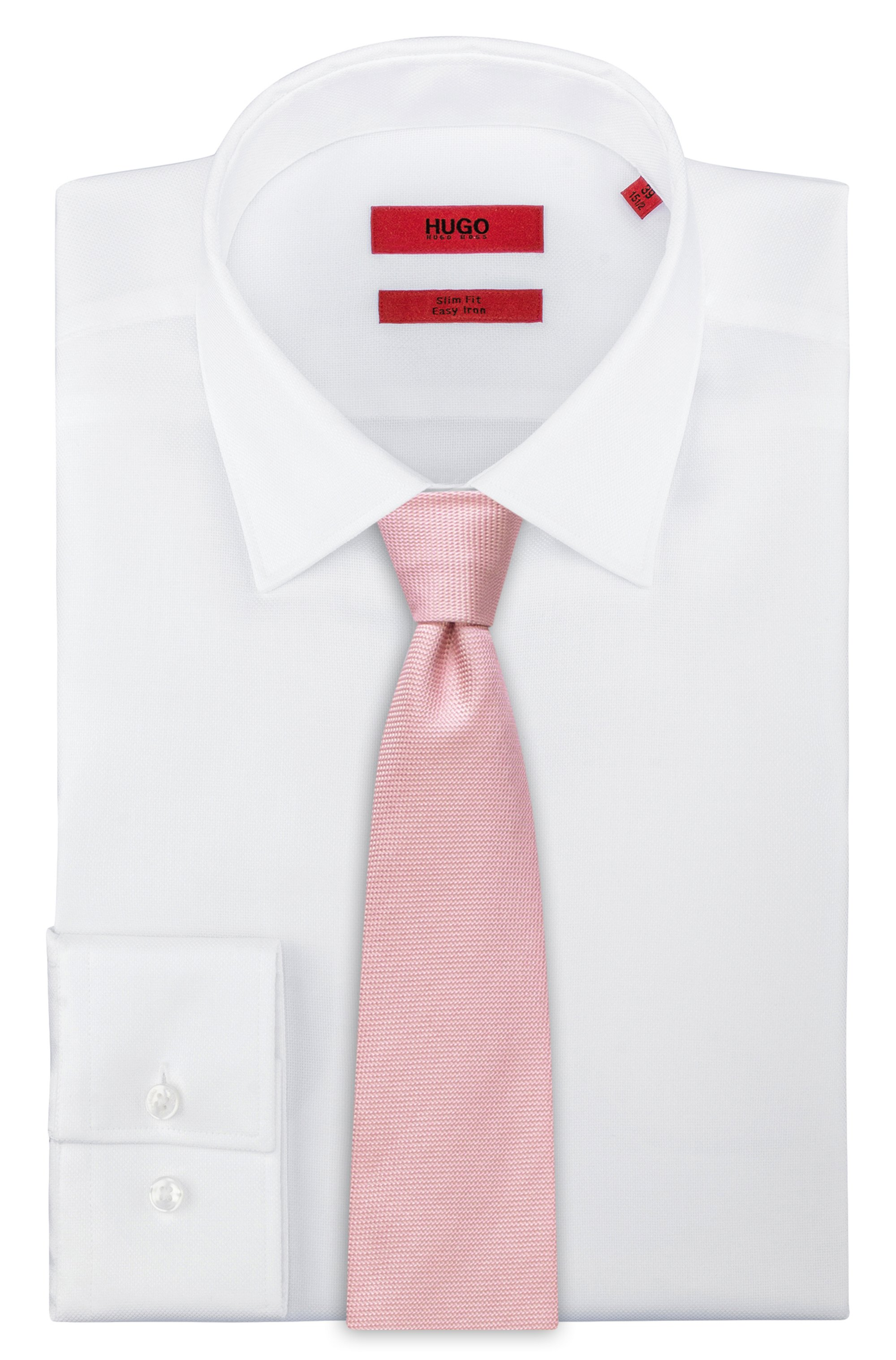 Italian-made tie in silk jacquard