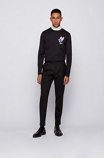 JUSTIN TEODORO系列T-shirt,  001_黑色