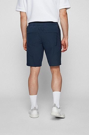 防水弹性休闲短裤,  410_Navy