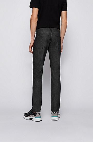 灰色意大利修身弹性牛仔裤,  030_Medium Grey