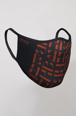 Unisex face mask with new-season print, Patterned