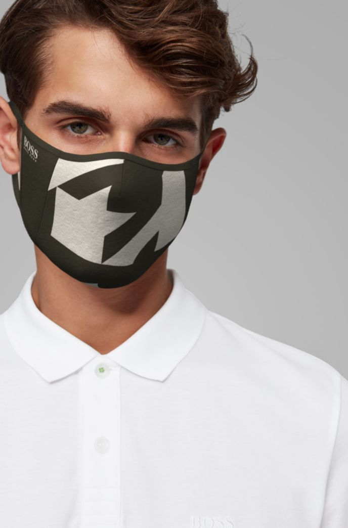 Unisex face mask with new-season print