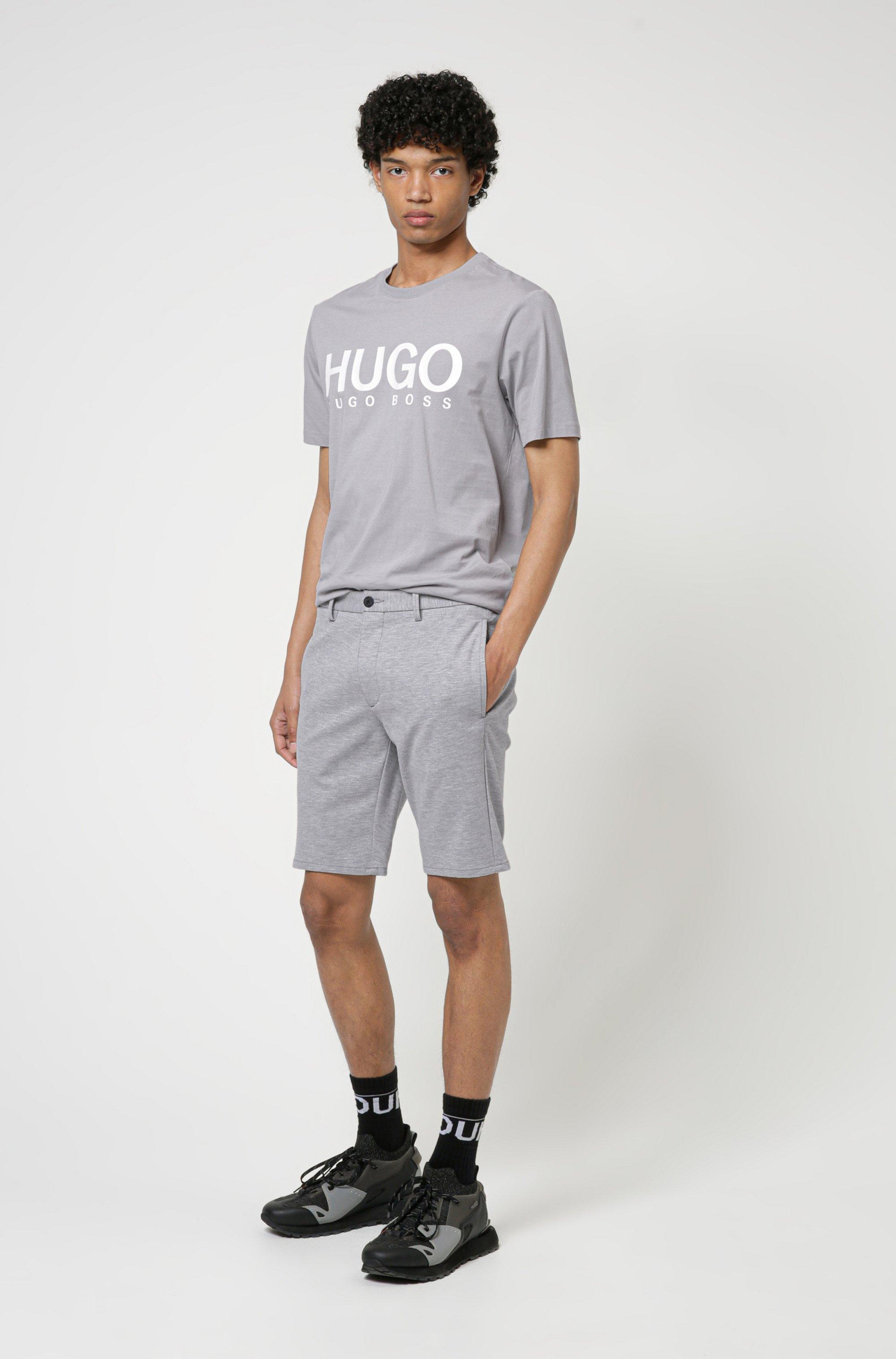 T-Shirt aus Baumwoll-Jersey mit Rundhalsausschnitt und Logo-Print