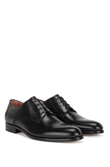 意大利制造柔软皮革德比鞋,  001
