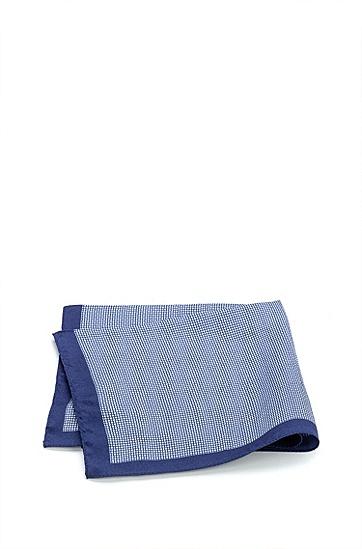 数字印花斜纹布方巾,  458_Light/Pastel Blue