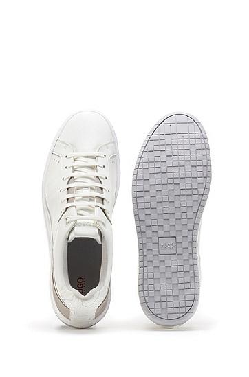 地形图滑板运动鞋,  100_White