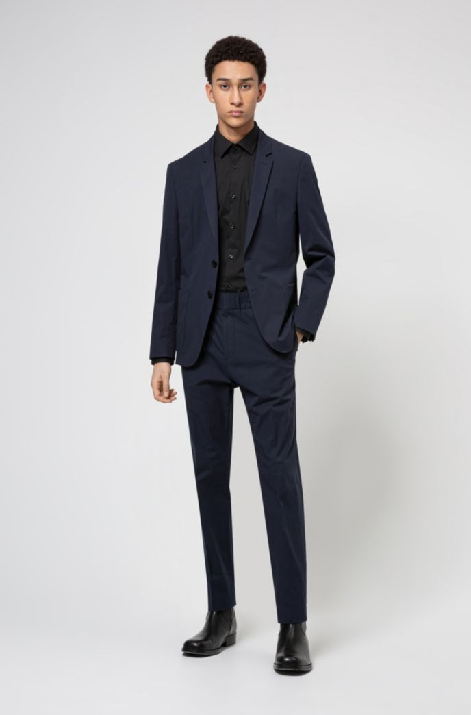 Extra-slim-fit trousers in performance-stretch fabric