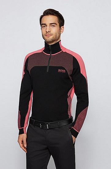 意大利涂层皮革双面腰带,  001_Black
