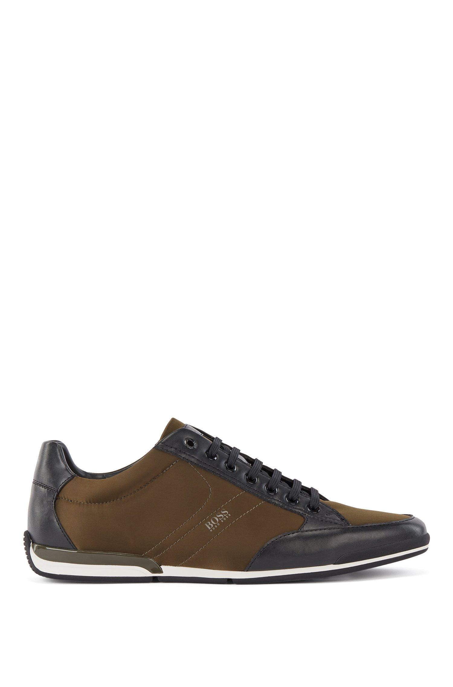 Sneakers mit Innensohle aus Memory-Schaum, Dunkelgrün