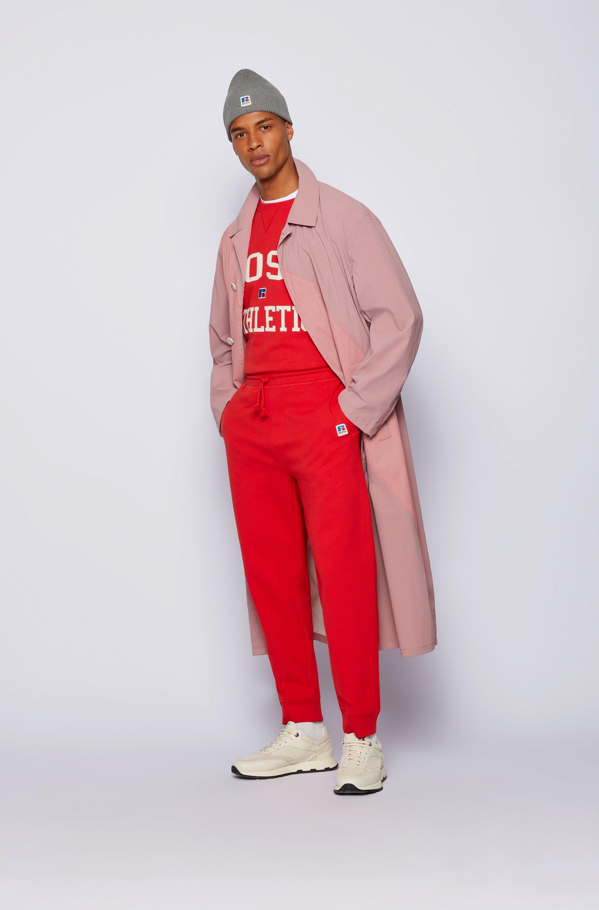 Relaxed-Fit Sweatshirt aus Bio-Baumwolle mit exklusivem Logo